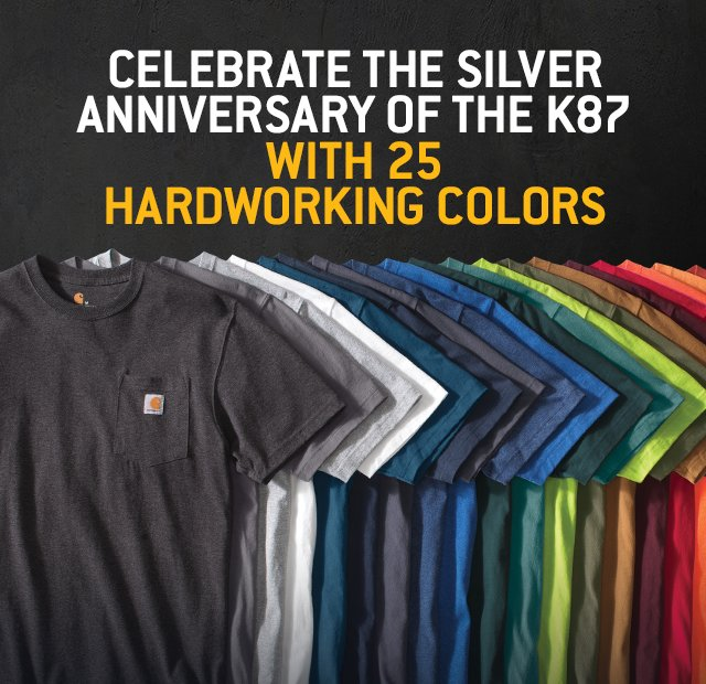 Celebrate the Silver Anniversary of the K87 with 25 Hardworking Colors