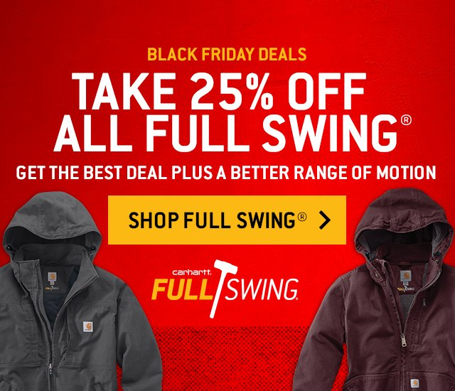 Pre Black Friday Deals, Take 25 percent off all Full Swing, Get The Best Deal Plus A Better Range of Motion, Shop Full Swing