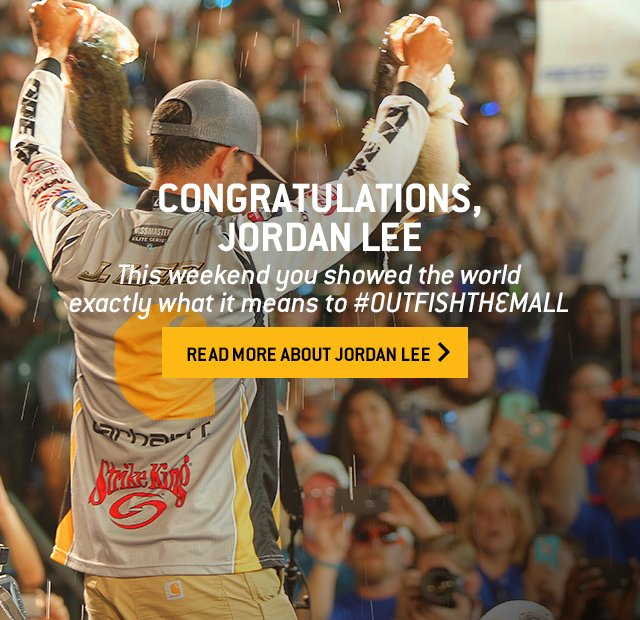 CONGRATULATIONS, JORDAN LEE | This weekend you showed the world exactly what it means to #OUTFISHTHEMALL | Read more about Jordan Lee