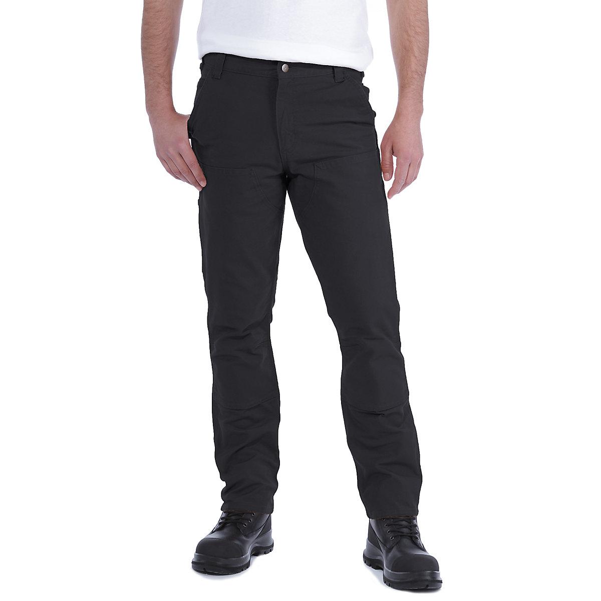 NUOVO Da Donna Metà elasticizzati stretch Girovita Ufficio Lavoro Pantaloni Pants
